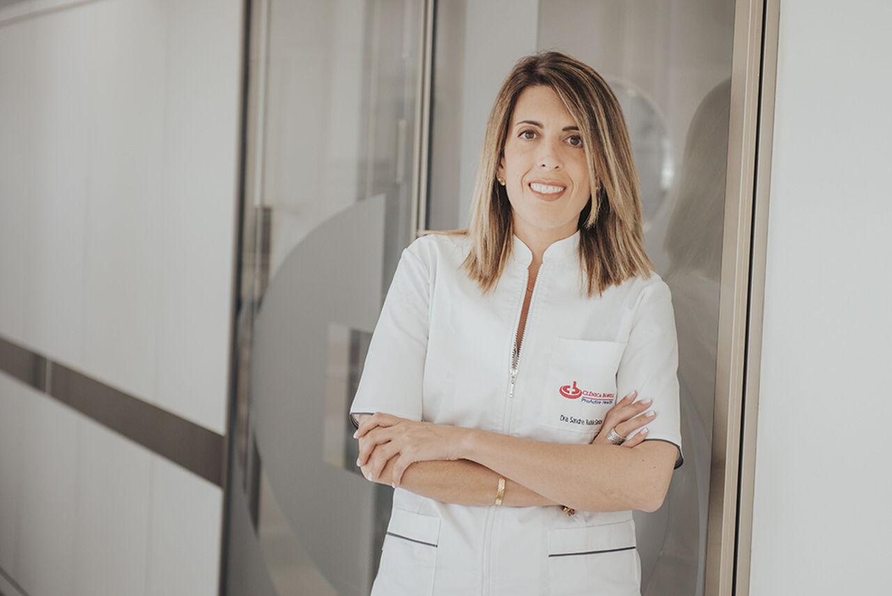 Dra. Sandra Tudela, especialista en Ginecologia i Obstetrícia de la Clínica Bofill